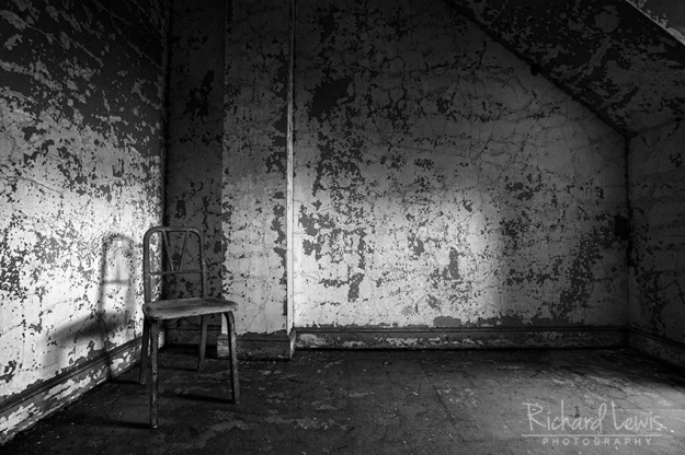 The Chair at Pennhurst by Richard Lewis
