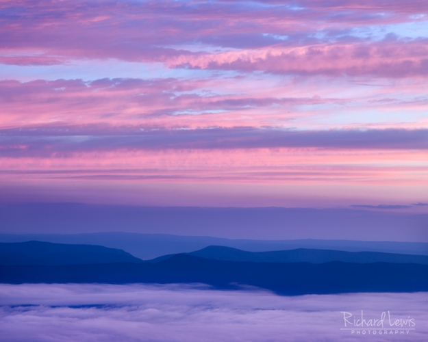 Daybreak in the Shenandoah Valley by Richard Lewis
