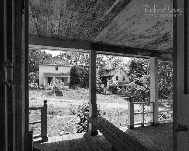 View From The Porch in Yellow Dog Village by Richard Lewis