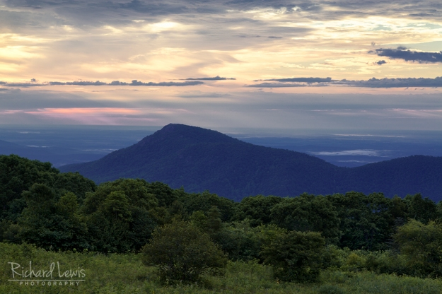 Morning Light on Old Rag Mountain in Shenandoah National Park by Richard Lewi