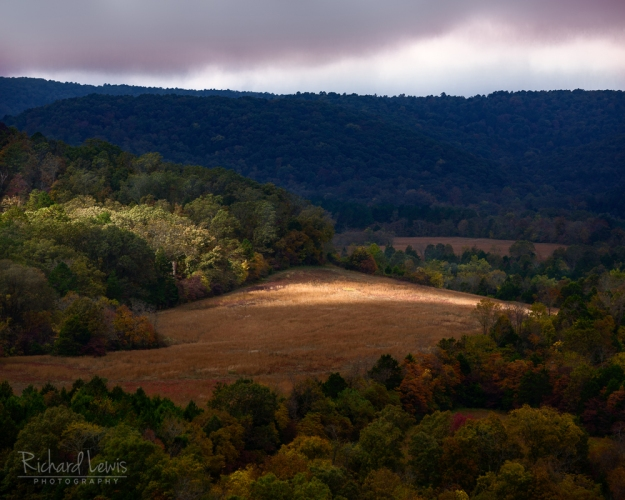 Storm Light In The Ozark Mountains by Richard Lewis