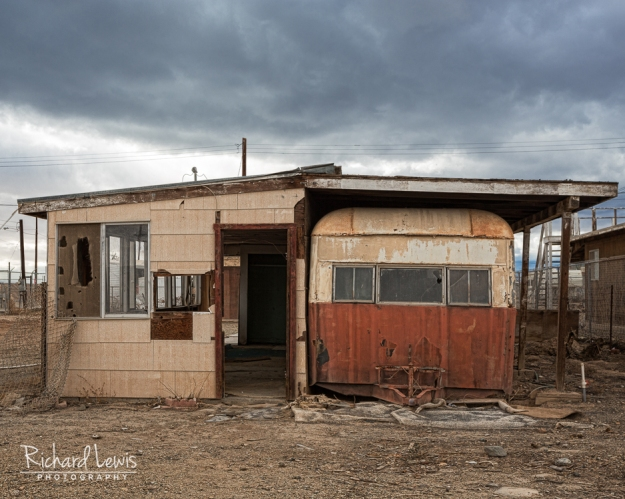 Abandoned Trailer House In Bombay Beach